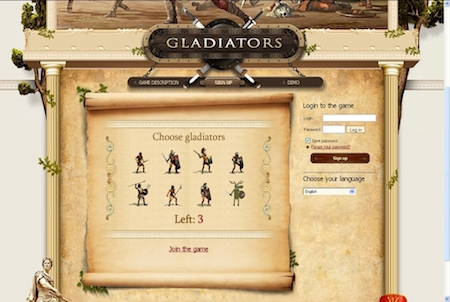 Gladiatorenwahl bei Gladiators