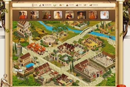 Gladiators Stadt