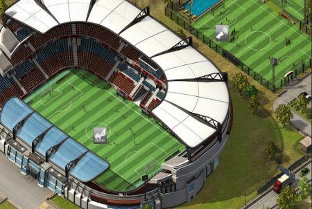 eigenes Stadion