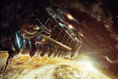 die beeindruckende Grafik von Battle Space