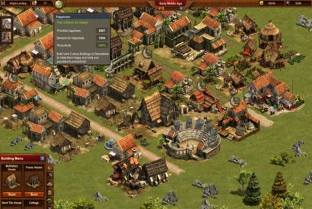 das Colosseum von Forge of Empires