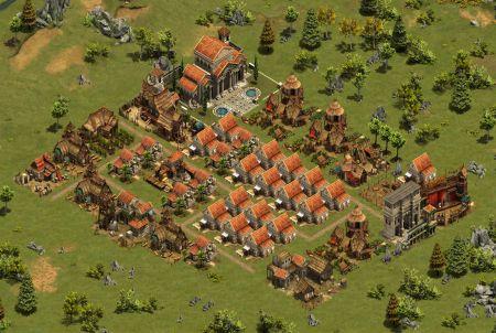 schaffe Wohnraum bei Forge of Empires