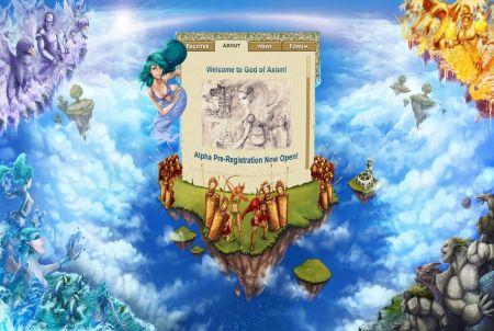 Startbildschirm God of Axion