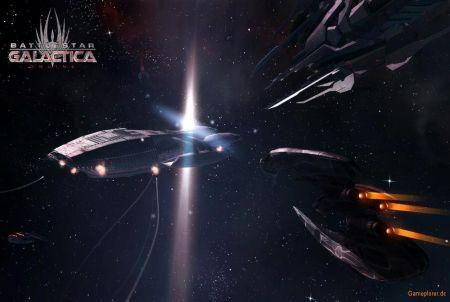 verschiedene Raumschiffe