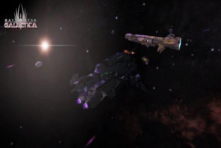 Galaxie bei Battlestar Galactica