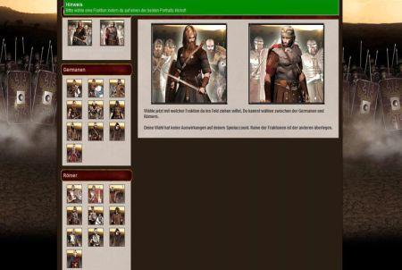 Informationen beim Browsergame Gladius Bellum