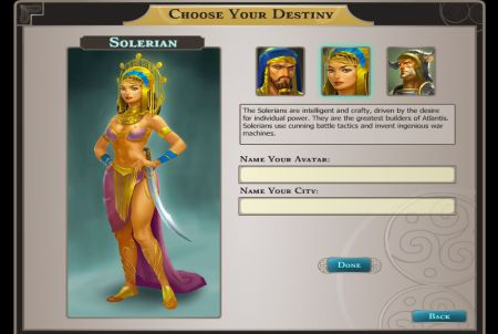 Vorbereitungen bei Dragons of Atlantis