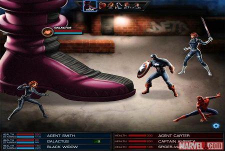 Begegne im Browsergame Marvel: Avengers Alliances echten Superhelden