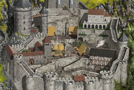 Burg bei Lords & Knights