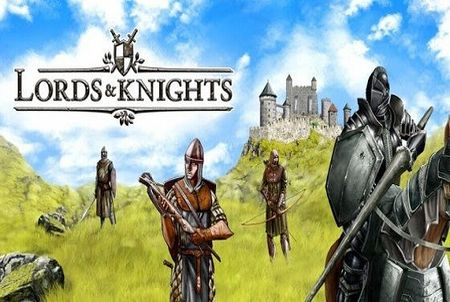 Screenshot des Browsergames Lords & Knights