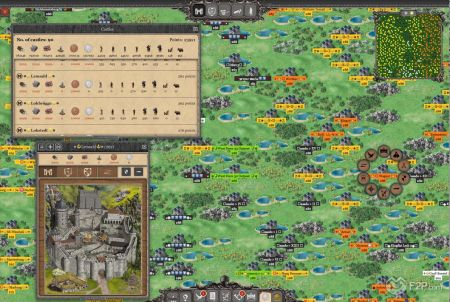 Strategie ist bei Lords & Knights besonders wichtig