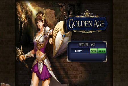 die Anmeldung bei Golden Age