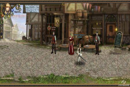 verschiedene Charaktere im Browsergame Golden Age