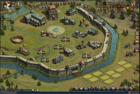 Stadt beim Browsergame Golden Age