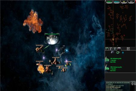 verschiedene Planeten bei Mega Space Game