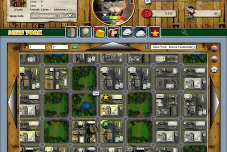 Stadtkarte bei Mice Mafia