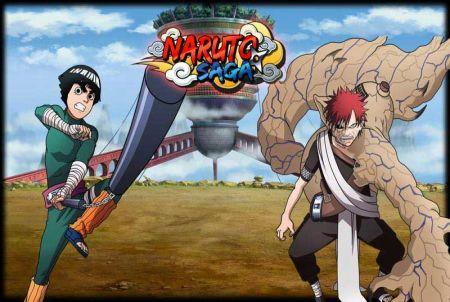 Charaktere aus Naruto Saga