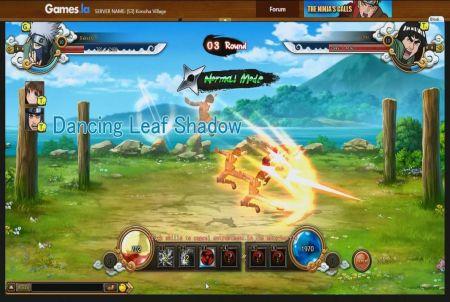 Duell bei Naruto Saga