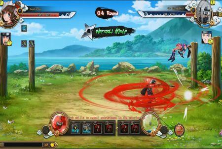 Kampf bei Naruto Saga