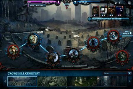 innovatives Gameplay bei Nightbaines