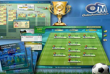 Mannschaftsaufstellung bei OFM - Online Fussball Manager