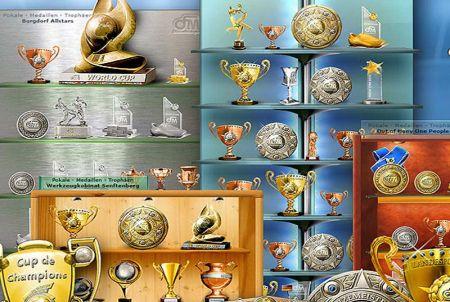 deine eigene Pokalvitrine bei OFM - Online Fussball Manager