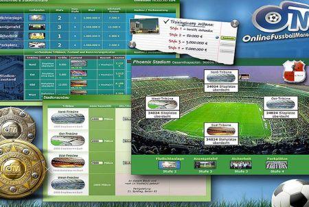 Stadionausbau bei OFM - Online Fussball Manager