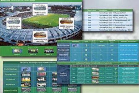 Stadionumfeld bei OFM - Online Fussball Manager