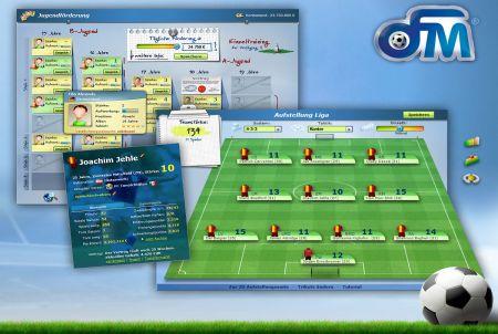 Taktikeinstellungen bei OFM - Online Fussball Manager