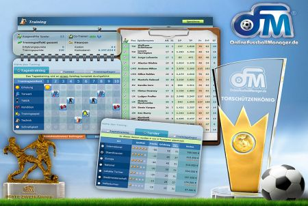 Training bei OFM - Online Fussball Manager