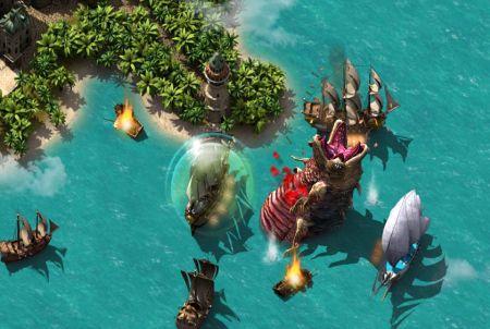 echte Seeschlacht bei Pirate Storm