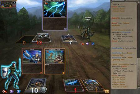Spielkarten bei Clash of The Dragons