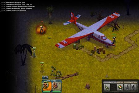 Flugzeug aus Riot Zone