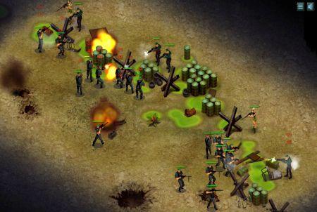 weitere Kampfszene aus Riot Zone