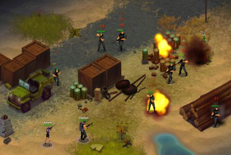 Krieg bei Riot Zone