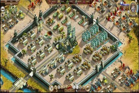 gigantische Stadt aus dem Browsergame Reborn Horizon