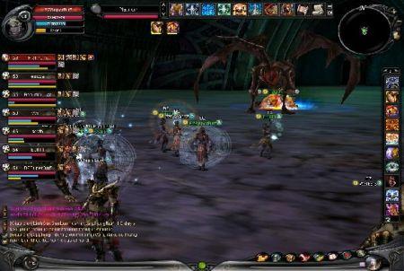 Teamfight bei Shaiya