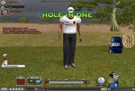 Hole in One bei Shot online