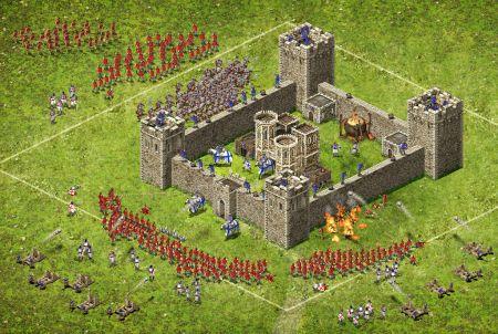 Stronghold Kingdoms Kriegszene