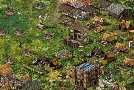 Stronghold Kingdoms Siedlung
