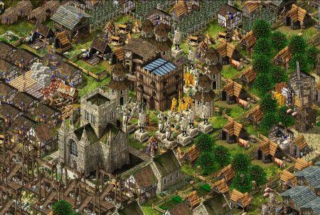 Stronghold Kingdoms Stadt