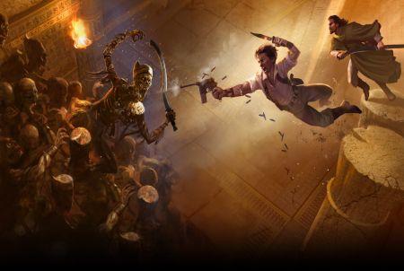 Actionszene aus The Mummy Online