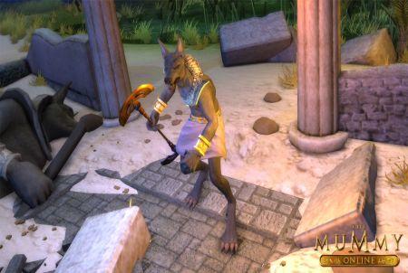 The Mummy Online Pharao