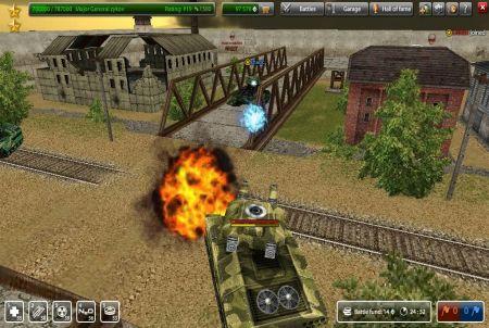 Kampfszene aus Tanki Online