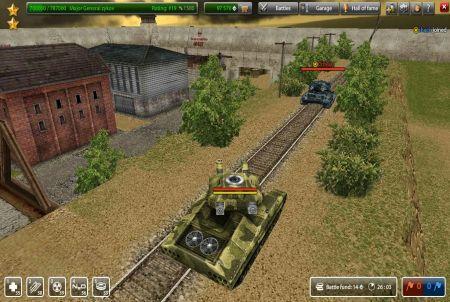 Panzerkrieg bei Tanki Online