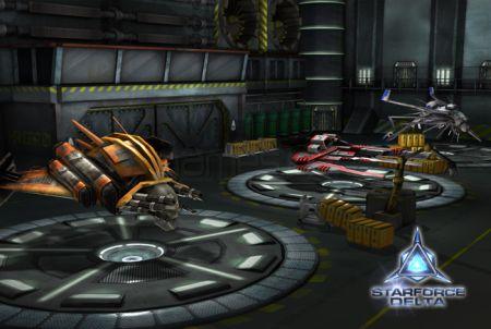 Raumschiffe bei Starforce Delta