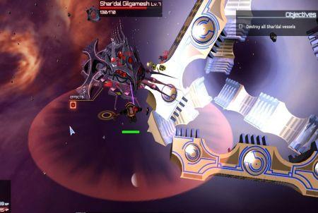 verschiedene Raumschiffe bei Starforce Delta