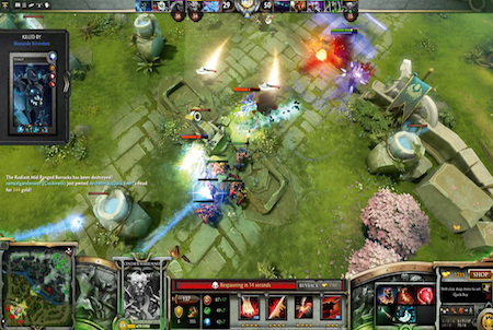 Fight bei DotA 2