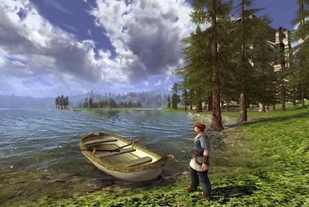 am See bei Der Herr der Ringe Online