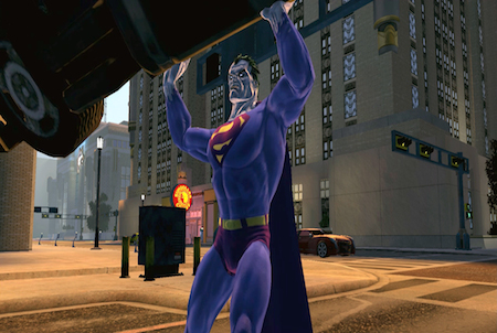 in Aktion bei DC Universe Online